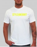 The D Is Silent - férfi póló