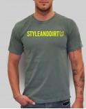 STYLEandDIRT Red Summer - férfi póló