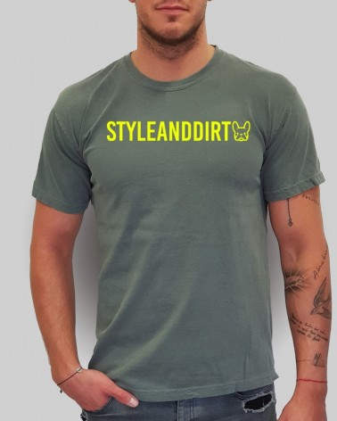 STYLE&DIRT Red Summer - férfi póló