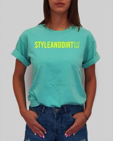 Colorful STYLE&DIRT - férfi póló