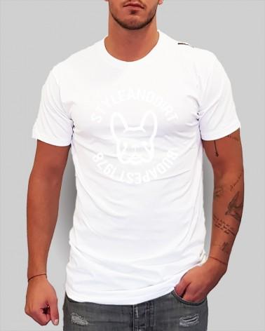 30S2M Black/White - női póló