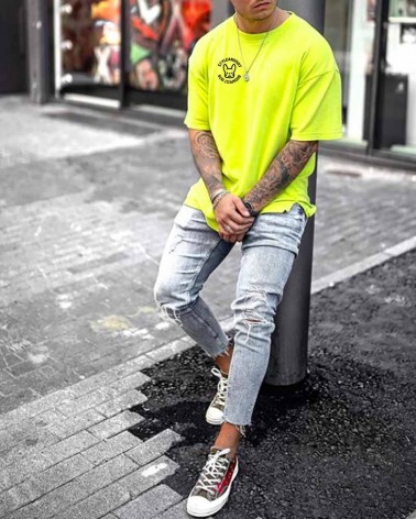 BVRLY HILLS - férfi póló - SUPER SALE